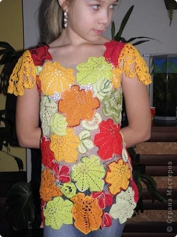 Вересень, платье для девочки-школьницы.  фото 2