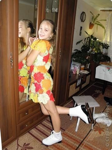 Вересень, платье для девочки-школьницы.  фото 1