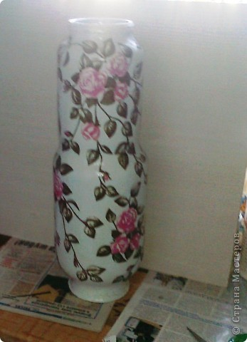 Многих заинтересовал процесс создания вазочек http://stranamasterov.ru/node/223162  Постараемся показать и рассказать. фото 1