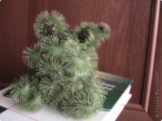 Лягушка-квакушка из плодов лопуха фото 1