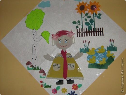 Хочу всем показать работы племянниц, им было тогда по 10 лет. Они живут в г.Калининграде. Сейчас все картины украшают стены детского сада. Просто посмотрите - мне понравились. фото 5