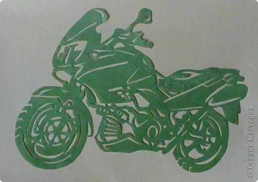 Поделки для мальчиков 23 февраля Вырезание Техника Мотоциклы Бумага фото 4