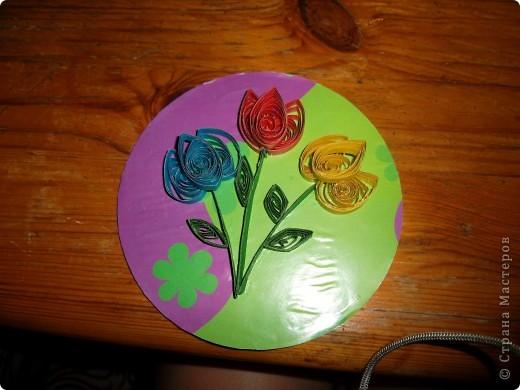 очень неумелые тюльпаны!!! Вы все будете смеятся!!!! фото 1