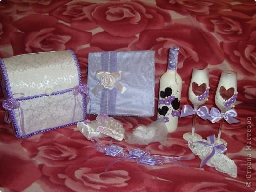 Весь наборчик для моей сиреневой свадьбы=)