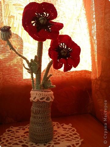 вазочка с маками