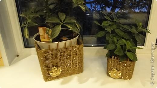 Коробки под горшки с цветами фото 2
