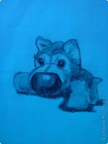 Нарисованно всё карандашом. фото 2