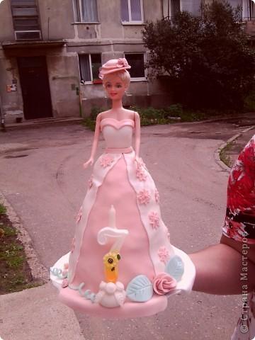 """Торт """"Кукла Барби"""" фото 1"""