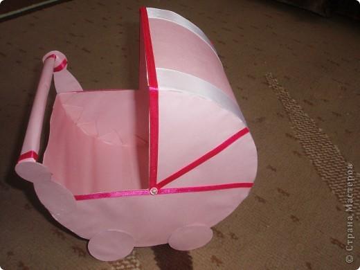 Вот такие колясочки на свадьбу сестры я сделала, невеста их еще не видела, но думаю ей должно понравиться. фото 3
