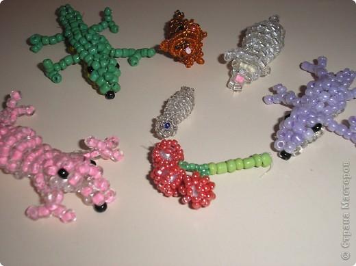 Моё плетение животных