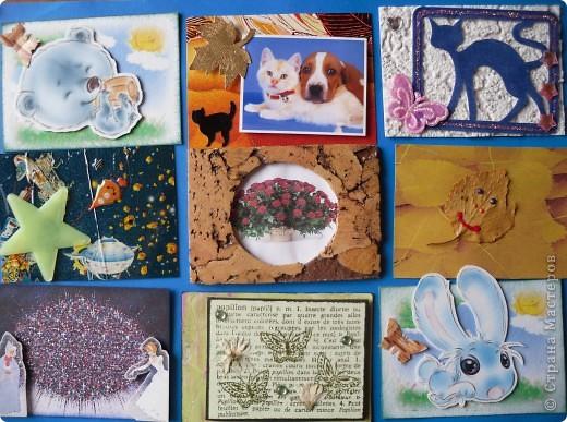 Давненько представила анонс этой серии, но выставляю только сейчас. Карточек как было 9, так и осталось. Больше что-то не нарисовались. Должна Марине(ШМыГа) Итак цветы, нарисованные акварельными карандашами. фото 7