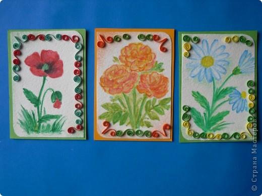 Давненько представила анонс этой серии, но выставляю только сейчас. Карточек как было 9, так и осталось. Больше что-то не нарисовались. Должна Марине(ШМыГа) Итак цветы, нарисованные акварельными карандашами. фото 3