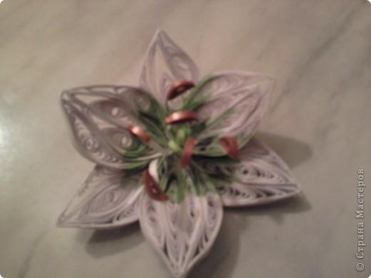 """На день рождения племянницы, сдела по МК мастериц """"Страны мастеров"""" подарок шкатулку, для разных девичьих безделушек. Получилось для Лилии -  шкатулка с лилиями. Огромное спасибо мастерицам, которые создают такие понятные МК. фото 3"""