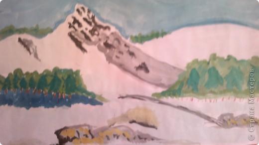 Гора на Кавказе