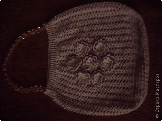 вязанная сумочка фото 1