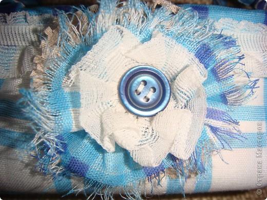 Эту корзиночку я сделала в Подмосковье, используя некоторые мамины запасы, для Alteret Art (http://altered-art.blogspot.com/). А идею подхватила у Ликмы http://stranamasterov.ru/node/8371?c=favorite  фото 15