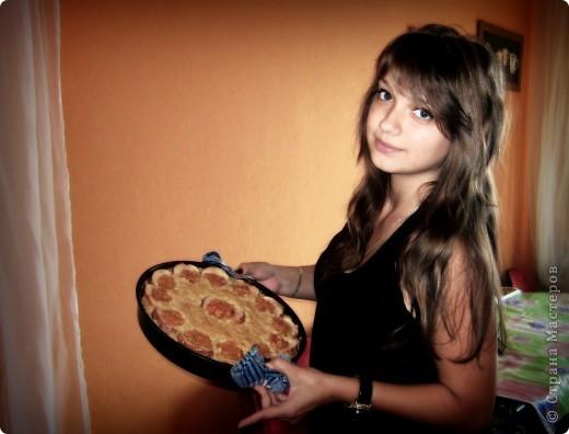 На фото я и мой пироооог)