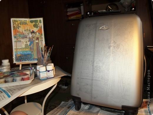 Переносим рисунок на поверхность с помощью копировальной бумаги. фото 3