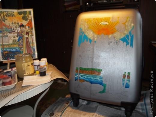 Переносим рисунок на поверхность с помощью копировальной бумаги. фото 4