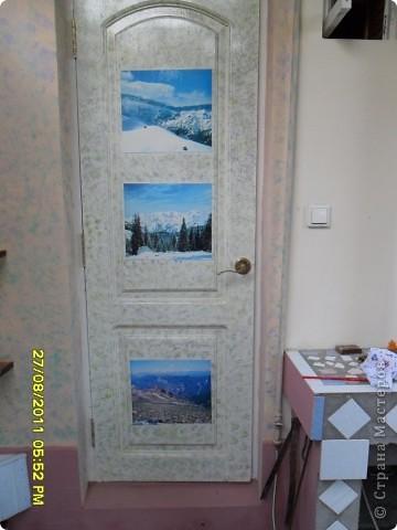 Дверь в летнюю кухню фото 2