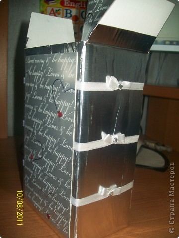 вот так задекорировала коробочки - нужно было две одинаковых и разных одновременно коробочки фото 3