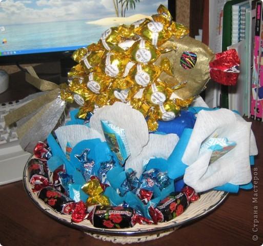 золотая рыбка подарок для маминой подруги  фото 1