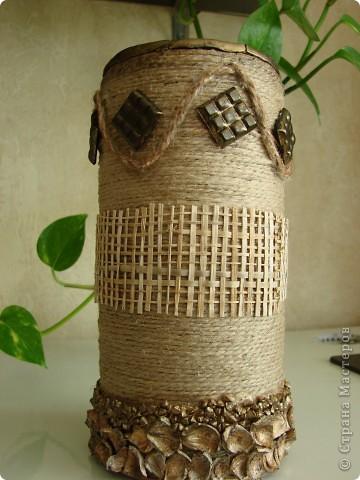 На вазе-бусы и браслет (все самодельное) для сарафана фото 2