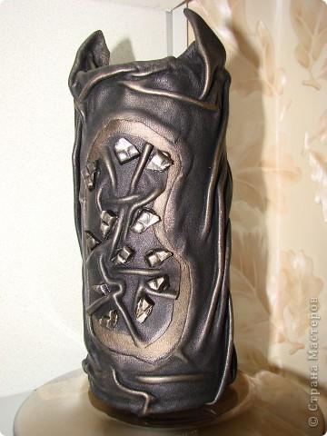 На вазе-бусы и браслет (все самодельное) для сарафана фото 3