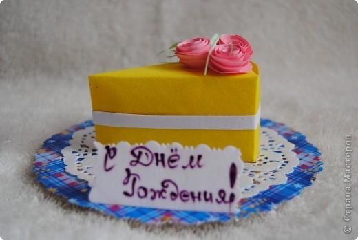 кусочек торта фото 1