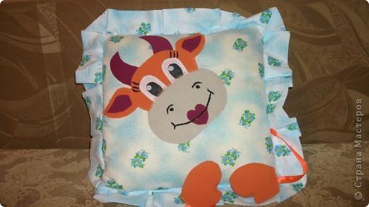 Подушка Добрая коровушка