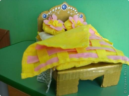 Кроватка для куклы (занятие по ИЗО) фото 3