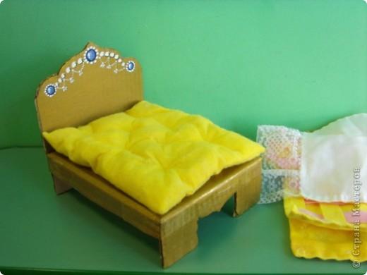 Кроватка для куклы (занятие по ИЗО) фото 4