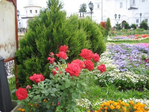 Я уже показывала вам Свято-Троицкий мужской монастырь. Но тогда я была там в начале лета. И такого буйного цветения там ещё не было. фото 20