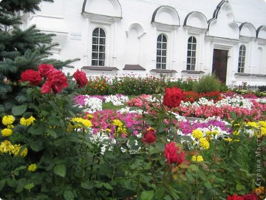 Я уже показывала вам Свято-Троицкий мужской монастырь. Но тогда я была там в начале лета. И такого буйного цветения там ещё не было. фото 27
