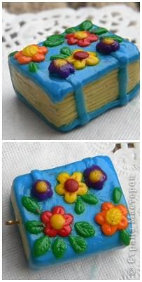 Мои любимые пироженки*  были наподобе - подруга забрала-не успела сфоткать (у них верх другого цвета) фото 10