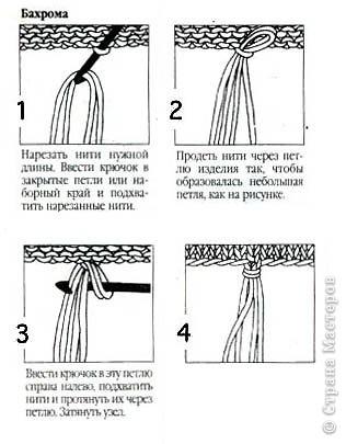 Вязала бактус по мастер - классу Ирочки - Голубки  http://stranamasterov.ru/node/227577 фото 24