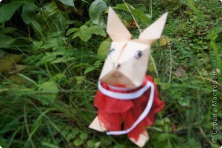 """Моя первая работа-""""повторюшка"""" .  Сделана по мастер-классу Татьяны Просняковой:                         http://stranamasterov.ru/technics/bunny.html фото 1"""