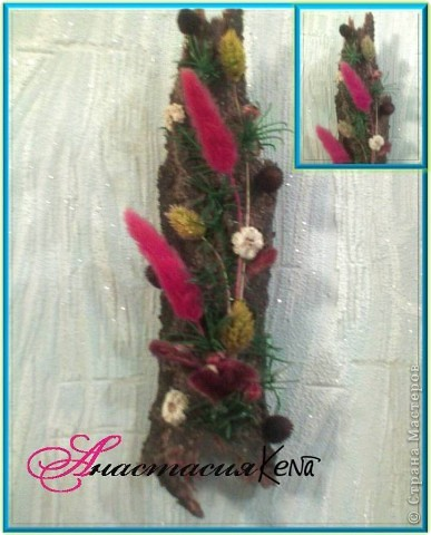 Цветы на коре фото 1