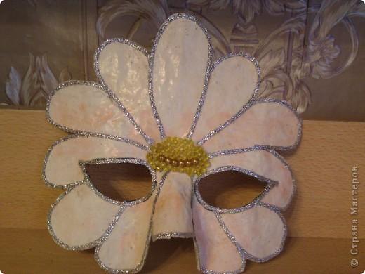 маска-ромашка