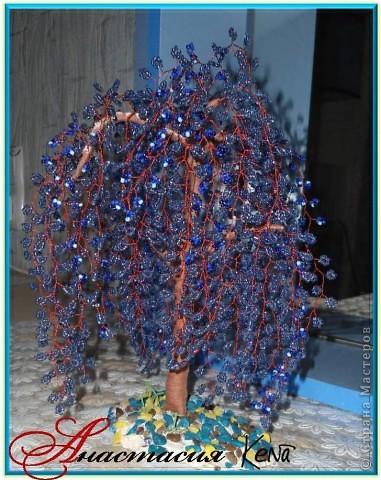 Дерево из бисера (№2) фото 2