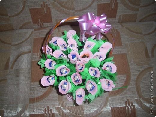 Корзина с цветами на 1 сентября фото 8
