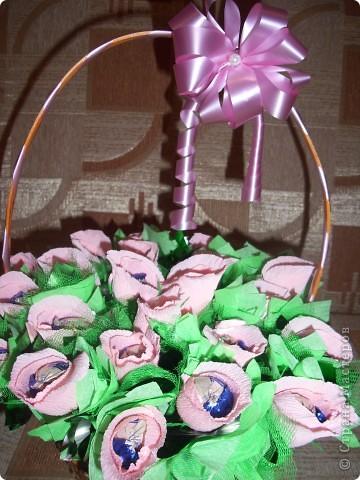 Корзина с цветами на 1 сентября фото 9