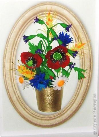 Последние летние полевые цветы. Милые мастерицы, все мастер - классы  смотрите на блоге Лены Вишерской. фото 1