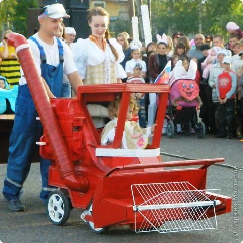 Первое место в конкурсе детских колясок - 2009 год. фото 4