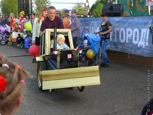 Первое место в конкурсе детских колясок - 2009 год. фото 2