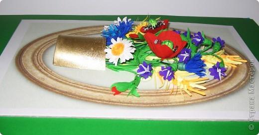 Последние летние полевые цветы. Милые мастерицы, все мастер - классы  смотрите на блоге Лены Вишерской. фото 2