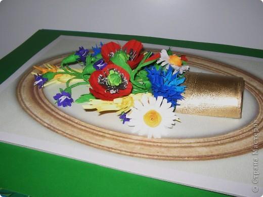 Последние летние полевые цветы. Милые мастерицы, все мастер - классы  смотрите на блоге Лены Вишерской. фото 3