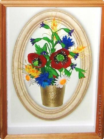 Последние летние полевые цветы. Милые мастерицы, все мастер - классы  смотрите на блоге Лены Вишерской. фото 4