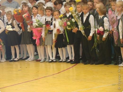 """""""День знаний"""" в нашей школе начался с торжественной линейки.  фото 2"""