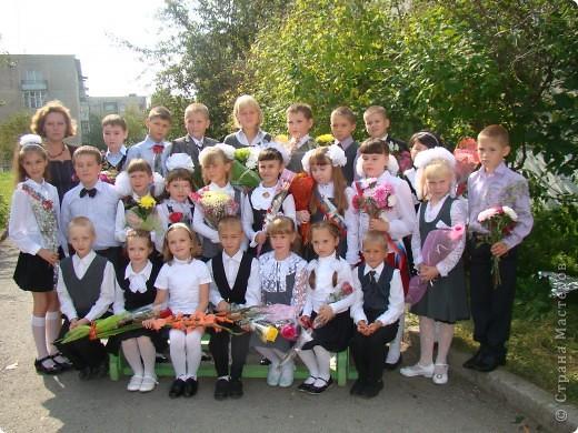 """""""День знаний"""" в нашей школе начался с торжественной линейки.  фото 4"""